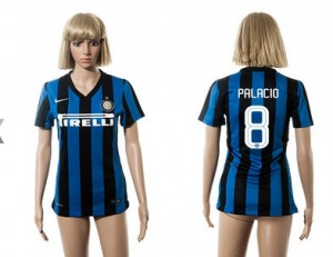 Mujer Camiseta del 8 Inter Milan 2015/2016