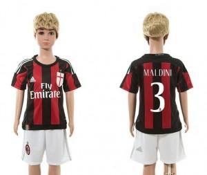 Ni?os Camiseta del 3 AC Milan 2015/2016