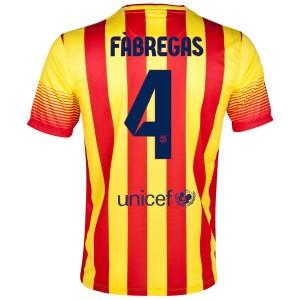 Camiseta Barcelona Fabregas Segunda 2013/2014