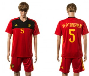 Camiseta Belgium 5# 2015-2016