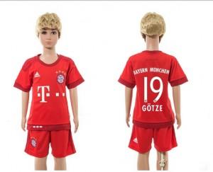 Camiseta Bayern Munich 19 Home 2015/2016 Ni?os