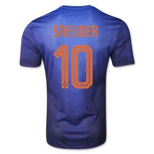 Camiseta de Holanda de la Seleccion WC2014 Segunda Sneijder