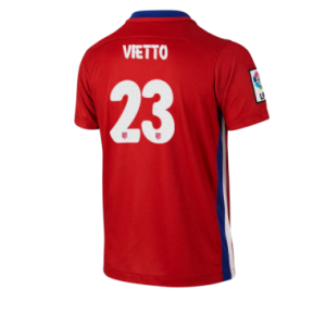 Camiseta de Atletico Madrid 2015/2016 Primera VIETTO Equipacion