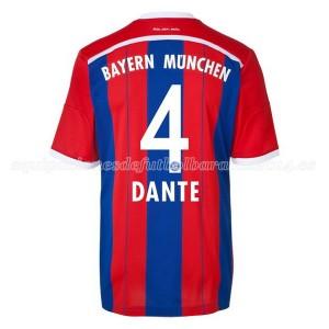 Camiseta nueva del Bayern Munich 2014/2015 Equipacion Dante Primera