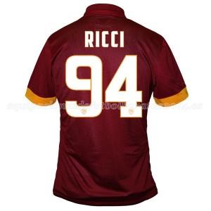 Camiseta del Ricci AS Roma Primera Equipacion 2014/2015