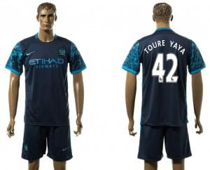 Camiseta del 42# Manchester City Away