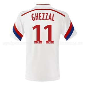 Camiseta del Ghezzal Lyon Primera 2014/2015