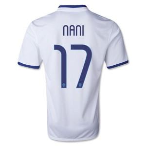 Camiseta de Portugal de la Seleccion 2013/2014 Segunda Nani