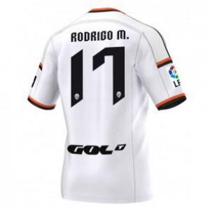 Camiseta nueva del Valencia 2014/2015 Equipacion Rodrigo Primera