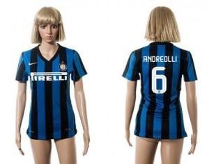 Camiseta Inter Milan 6 2015/2016 Mujer