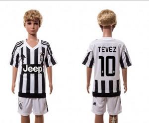 Camiseta nueva del Juventus 2015/2016 10 Ni?os Home