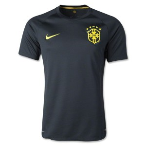 Camiseta nueva del Brasil de la Seleccion WC2014 Tercera