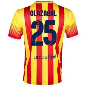 Camiseta Barcelona Olazabal Segunda 2013/2014