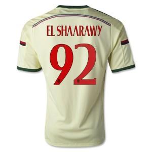 Camiseta AC Milan El.Shaarawy Tercera Equipacion 2014/2015