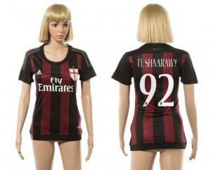 Camiseta nueva del AC Milan 2015/2016 92 Mujer