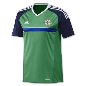 Camiseta del Irlanda del Norte 2016/2017