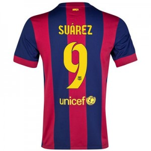 Camiseta nueva del Barcelona 2014/2015 Equipacion SUAREZ Primera