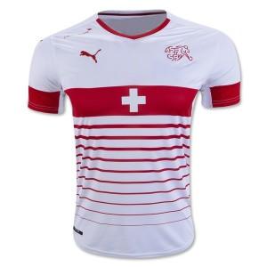 Camiseta nueva del Suiza de la Seleccion 2016 Primera