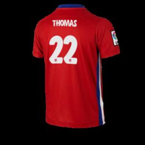 Camiseta del THOMAS Atletico Madrid Primera Equipacion 2015/2016