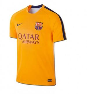 Camiseta FC Barcelona Segunda Equipacion 2015/2016