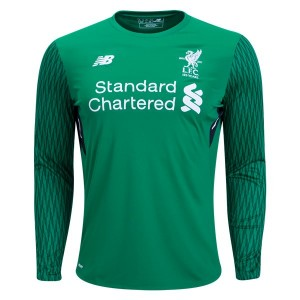 Camiseta del Goalkeeper Liverpool Home Long Sleeve 2017/2018