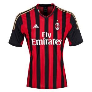Camiseta de AC Milan 2013/2014 Primera Tailandia