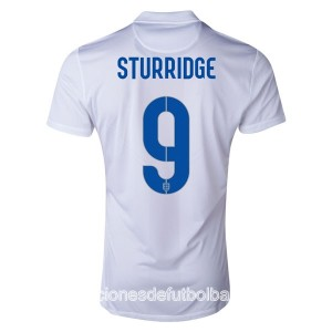 Camiseta nueva del Inglaterra de la Seleccion WC2014 Sturridge Primera