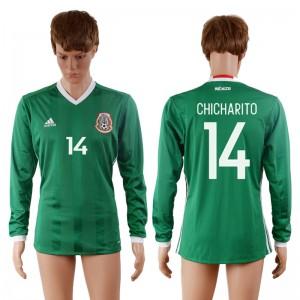Camiseta nueva del Mexico 2016-2017 14#