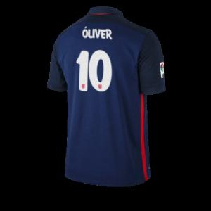 Camiseta Atletico Madrid OLIVER Segunda Equipacion 2015/2016