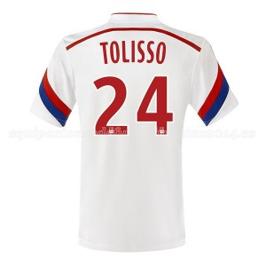 Camiseta Lyon Tolisso Primera 2014/2015