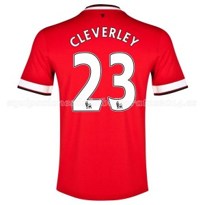 Camiseta del Cleverley Manchester United Primera 2014/2015