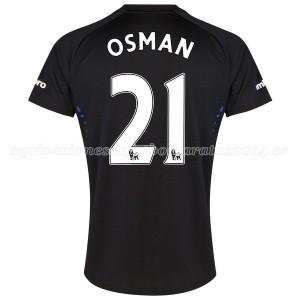 Camiseta Everton Osman 2a 2014-2015