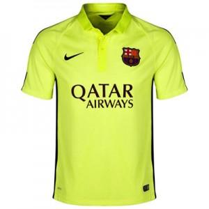 Camiseta nueva Barcelona Equipacion Tercera 2014/2015