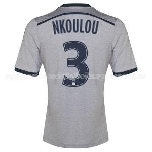 Camiseta Marseille Nkoulou Segunda 2014/2015