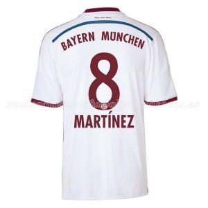 Camiseta nueva Bayern Munich Martinez Equipacion Segunda 2014/2015