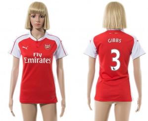 Camiseta Arsenal 3 2015/2016 Mujer