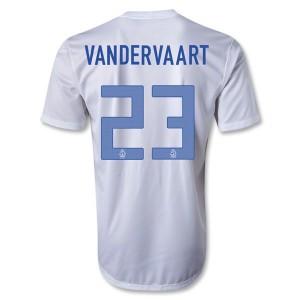 Camiseta del Vandervaart Holanda Segunda 2013/2014