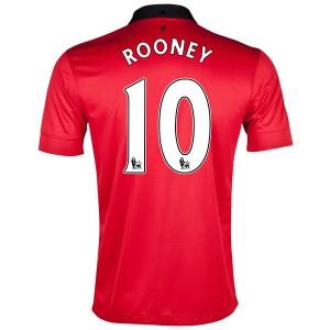 Camiseta Inglaterra de la Seleccion Rooney Primera 2013/2014