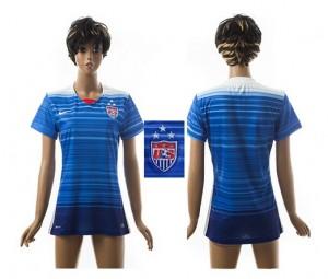 Mujer Camiseta del Estados Unidos 2015/2016