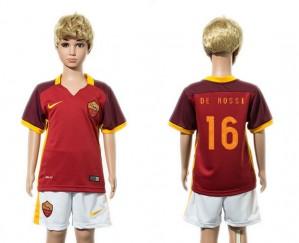 Ni?os Camiseta del 16 AS Roma 2015/2016