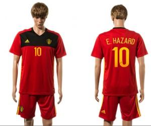 Camiseta de Belgium 2015-2016 10#