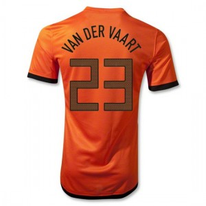 Camiseta nueva Holanda Van Der Vaart Primera 2012/2014