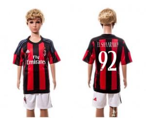 Ni?os Camiseta del #92 AC Milan Home 2015/2016