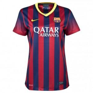 Camiseta nueva del Barcelona 2013/2014 Equipacion Mujer Primera