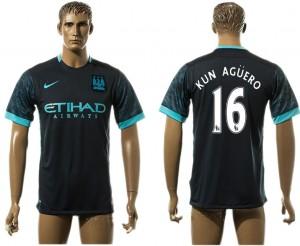 Camiseta Manchester City 16# Away aaa version