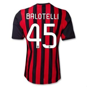 Camiseta nueva AC Milan Balotelli Equipacion Primera 2013/2014