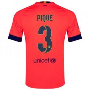 Camiseta del PIQUE Barcelona Segunda Equipacion 2014/2015