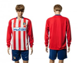 Camiseta del Atletico Madrid Primera Manga Larga 15/16