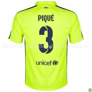 Camiseta del Pique Barcelona Tercera 2014/2015