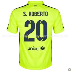 Camiseta Barcelona S.Roberto Tercera 2014/2015